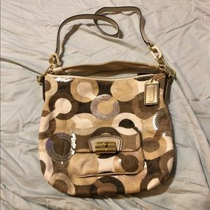 Coach Sequins Handbag